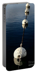 Portable Battery Charger featuring the photograph Buoy Descending by Stephen Mitchell