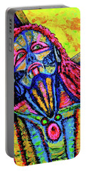 Portable Battery Charger featuring the painting Burden by Viktor Lazarev