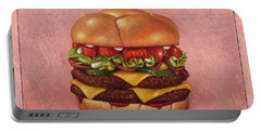 Burger Portable Battery Charger