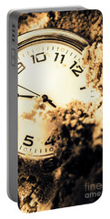 Buried By The Hands Of Time Portable Battery Charger