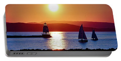 Burlington Breakwater Sunset Portable Battery Charger
