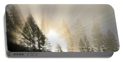 Burning Through The Fog Portable Battery Charger