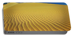 Burning Up At The White Sand Dunes - Mui Ne, Vietnam, Southeast Asia Portable Battery Charger