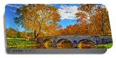 Burnside Bridge At Antietam Portable Battery Charger