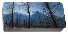 Portable Battery Charger featuring the photograph Burnt Offerings by Lon Dittrick