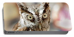 Burrowing Owl Portrait Portable Battery Charger