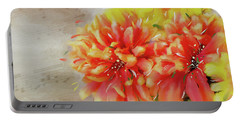 Portable Battery Charger featuring the photograph Burst Of Autumn by Mary Timman