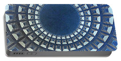 Burst Of Blue View Of A Dome Portable Battery Charger