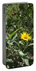 Burst Of Sun Flower Portable Battery Charger