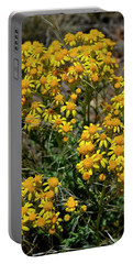 Burst Of Yellow Portable Battery Charger