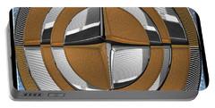 Bursting At Its Metallic Seams Portable Battery Charger