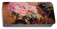 Bursting With Flowers Portable Battery Charger