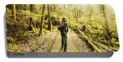 Portable Battery Charger featuring the photograph Bushwalking Tasmania by Jorgo Photography - Wall Art Gallery