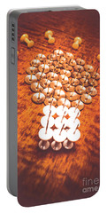 Busiiness Still Life Ideas Portable Battery Charger