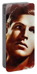 Buster Crabbe, Vintage Movie Star Portable Battery Charger