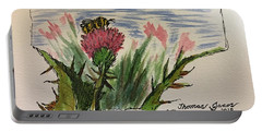Busy Bumblebee  Portable Battery Charger