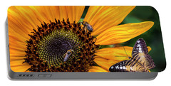 Busy Sunflower Portable Battery Charger