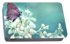 Portable Battery Charger featuring the photograph Buterfly Dreamin' by Mark Fuller