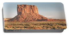 Portable Battery Charger featuring the photograph Butte, Monument Valley, Utah by A Gurmankin