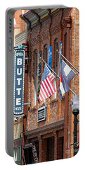 Butte Opera House In Colorado Portable Battery Charger by Catherine Sherman