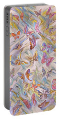 Butterflies Abstract  Portable Battery Charger