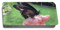 Butterflies Are Free Portable Battery Charger