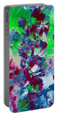 Butterflies, Fairies And Flowers Portable Battery Charger