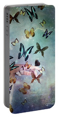 Butterflies Reborn Portable Battery Charger