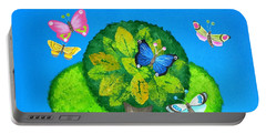 Butterflies Refuge Portable Battery Charger