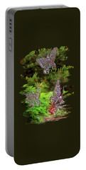 Portable Battery Charger featuring the photograph Butterflies by Thom Zehrfeld
