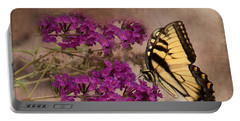 Butterfly , Eastern Tiger Swallowtail Portable Battery Charger