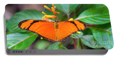 Butterfly #2017 Portable Battery Charger by Chuck Flewelling