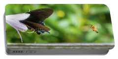 Butterfly And Bee Portable Battery Charger
