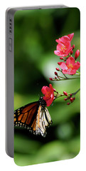 Butterfly And Blossom Portable Battery Charger