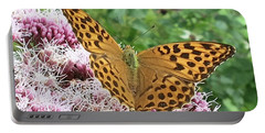 Butterfly Argynnis Paphia  Portable Battery Charger