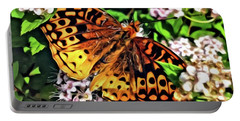 Butterfly Beauty Portable Battery Charger