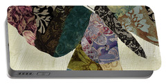 Butterfly Brocade I Portable Battery Charger