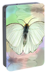 Portable Battery Charger featuring the photograph Butterfly, Butterfly by Rosalie Scanlon