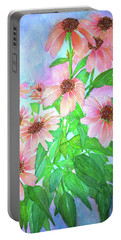 Butterfly Coneflower Portable Battery Charger