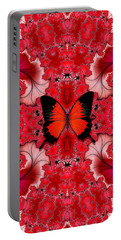 Butterfly Dream Phone Case Portable Battery Charger by Lea Wiggins