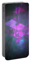 Portable Battery Charger featuring the digital art Butterfly Dreams by Mimulux patricia no No