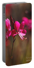 Butterfly Flowers Glow Portable Battery Charger