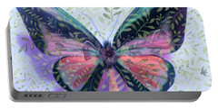 Butterfly Garden Fantasy Portable Battery Charger