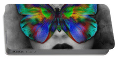 Butterfly Girl Portable Battery Charger