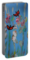 Butterfly Glads Portable Battery Charger