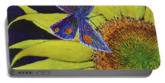 Butterfly Haven Portable Battery Charger