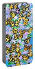 Butterfly Paradise Portable Battery Charger