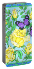 Butterfly Idyll-roses Portable Battery Charger