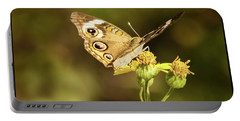 Butterfly In Bokeh Portable Battery Charger