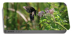 Butterfly In The Sun Portable Battery Charger